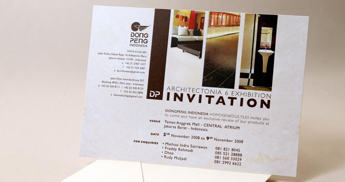 """Architectonia Expo"" DongPeng Indonesia Homogeneous Tiles"