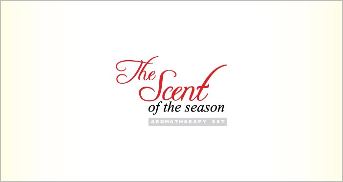 """The Scent of The Season"" Christmas Aromatherapy Set"